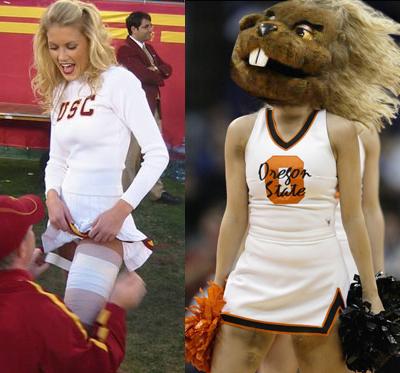 USC Song Girl, OSU Beaver Exposed – TrojanWire