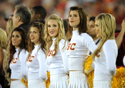Usc Cheerleaders 2010
