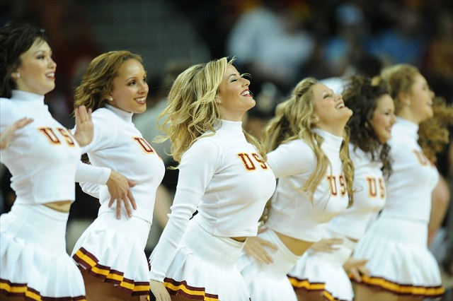 USC Sweater Girls!!!!....